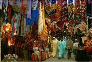 Марокканские базары - буйство красок