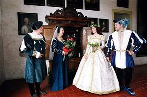 Свадьба в Чехии-роскошь средневековья