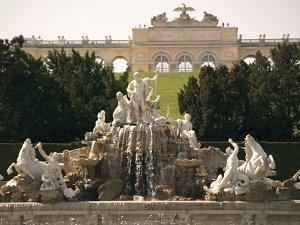 летний дворец и парк в Шёнбрунне
