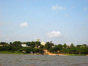 Тоговилль - крохотный город на северном берегу озера Того