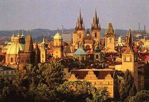 красавицf Прага