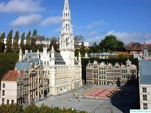 Площади Бельгии
