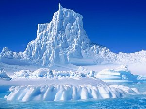 Пирамидальные айсберги