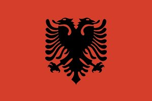 Национальный флаг Албании