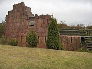 Руины крепости Бомарсунд