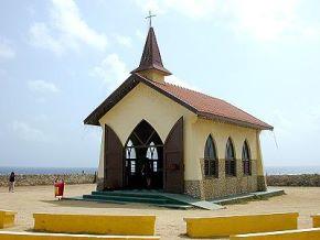 Христианская часовенка на Арубе