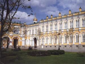 Большой Кремлевский дворец, западный фасад