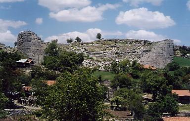 Сельге – античный город в горах Тавра