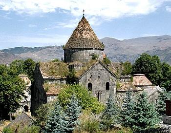 Санаин был крупным просветительским центром Армении