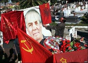 100-летие со дня рождения вождя коммунистической Албании Энвера Ходжи