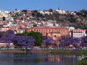 Антананариво - столица Мадагаскара