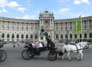 Хофбург - официальный офис Федерального Президента Австрии