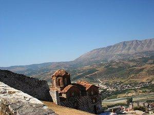 Берат - одно из самых красивых мест в Албании