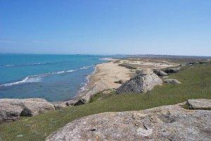 побережье Каспия