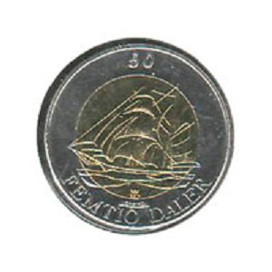 Монета Аландских островов