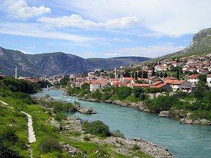 Старая часть города Мостара – заповедная территория ЮНЕСКО