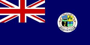колониальный флаг Антигуа