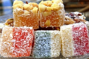 Рахат Лукум: десерт, достойный королей
