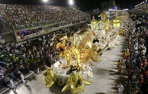 карнавальный Рио-де-Жанейро