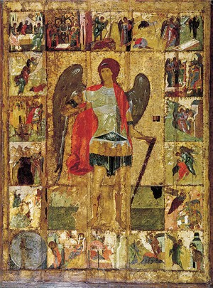 Храмовый образ Михаила Архангела (начало XV века)