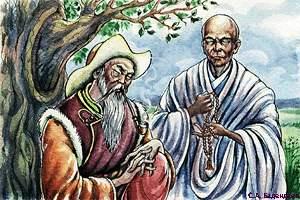 Алтын-хан и правитель тибетских лам
