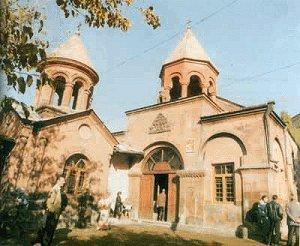церковь Св. Зоравора в Ереване