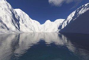Долины и горы антарктических Альп