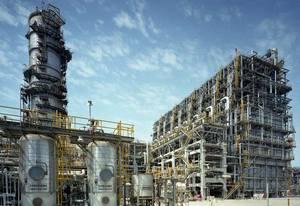 Нефтехимический комбинат в Бахрейне