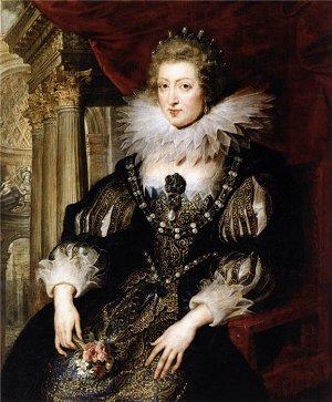 Портрет Анны Австрийской работы Рубенса