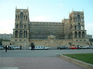 в Азербайджан