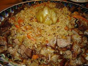 Афганская кухня - плов