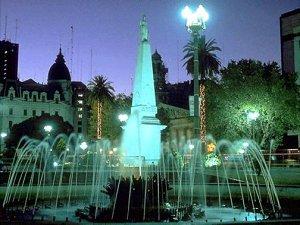 Ночной Буэнос-Айрес