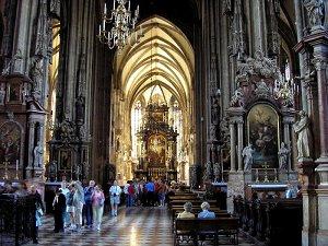 Собор Святого Стефана интерьер