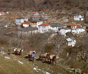 Есть в Македонии очень живописные деревушки