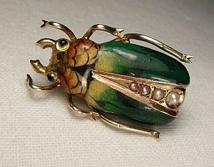 Бижутерия в Австрии.жук