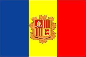 Андорра-государственный флаг