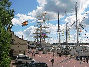 порт Алендских островов