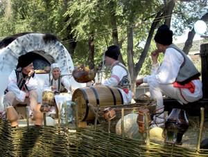 Молдавский народ сформировался в основном из различным племен северных фракийцев