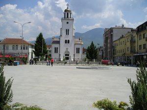 Город Гостивар расположен в западной части Македонии