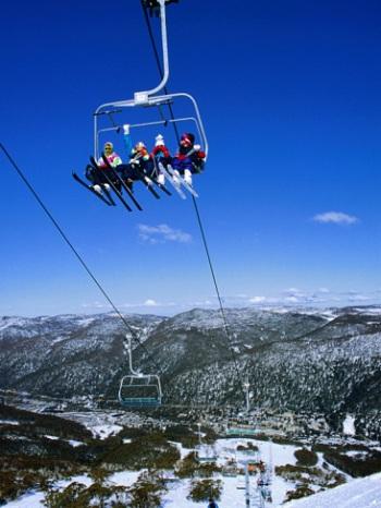 В Австралии таким снежным раем для адреналина является горнолыжный курорт Тредбо.
