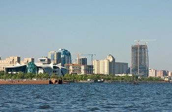 Баку изобилует яркой архитектурой