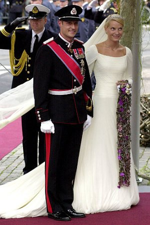 Норвежский принц Хокон и принцесса Метте-Марит