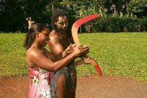 Бумеранг-изобретение индейцев