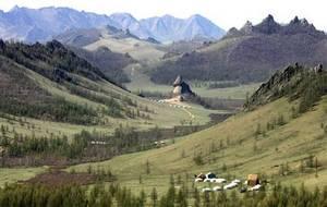 Столица не имеющей выхода к морю Монголии