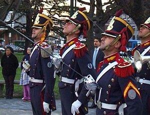парадные части армии в Аргентине