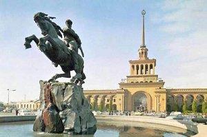 Конная статуя Давида Сасунского