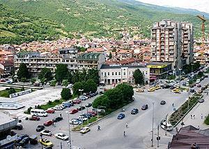 Город Тетово расположен у южного подножия хребта Шар-Планина