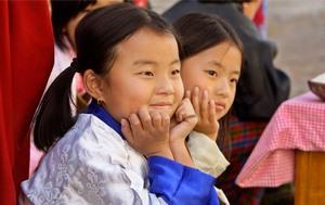 Основной народ Бутана - западные бутанцы, говорящие на языке Дзонгка