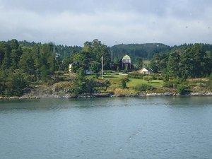 Аландские острова - самый западный район Финляндии