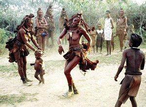 Танцы в Анголе